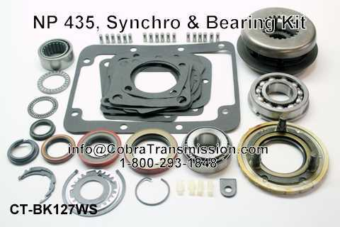NP 435, Synchro, Bearing, Gasket and Seal Kit