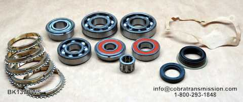 Rotary RX7B Synchro, Bearing, Gasket and Seal Kit