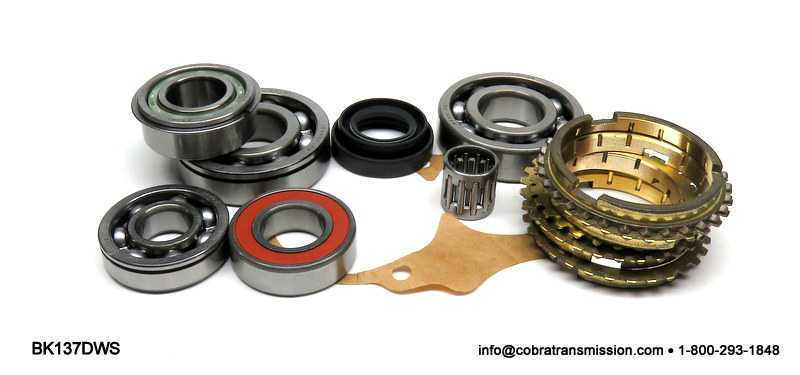 TK5D Synchro, Bearing, Gasket and Seal Kit