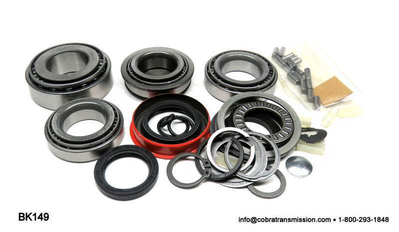 T5 World Class Bearing, Gasket and Seal Kit