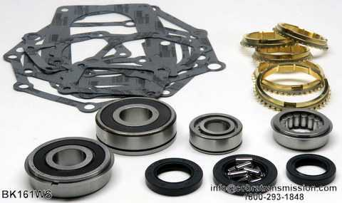 Toyota G40, G52,Synchro, Bearing, Gasket and Seal Kit