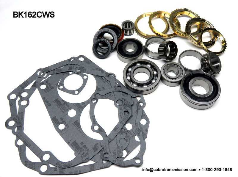 Toyota W58, W59, Synchro, Bearing, Gasket and Seal Kit