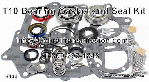 T10, Bearing, Gasket and Seal Kit