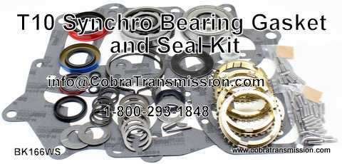 T10 Synchro, Bearing, Gasket and Seal Kit