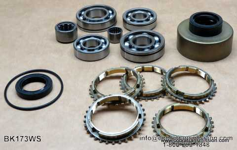 FS5 W71 Synchro, Bearing, Gasket and Seal Kit