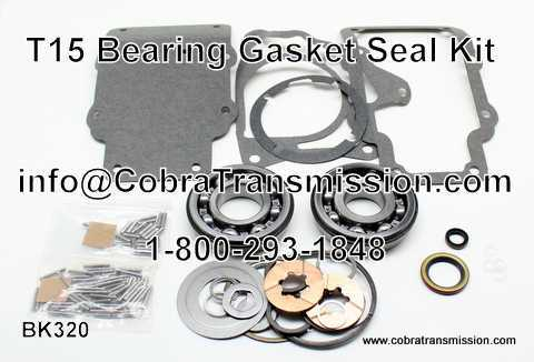 T15, Bearing, Gasket and Seal Kit
