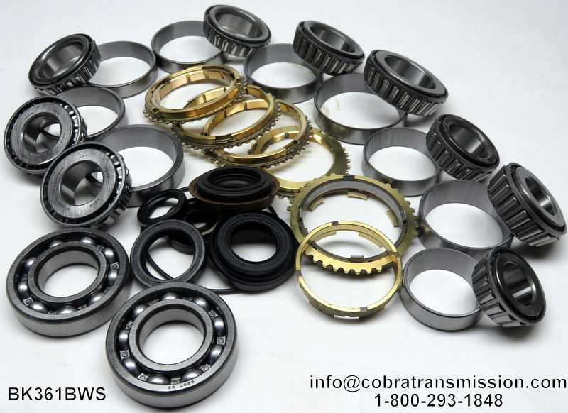 W5M33 (5 Speed) (Awd), Synchro, Bearing, Gasket and Seal Kit