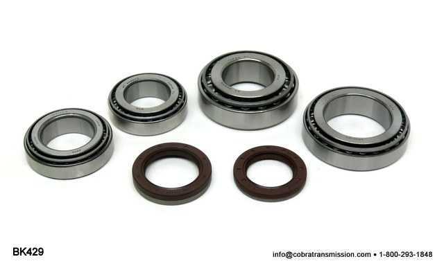 Transfer Case, Mitsubishi W5MG1, Bearing, Gasket and Seal Kit