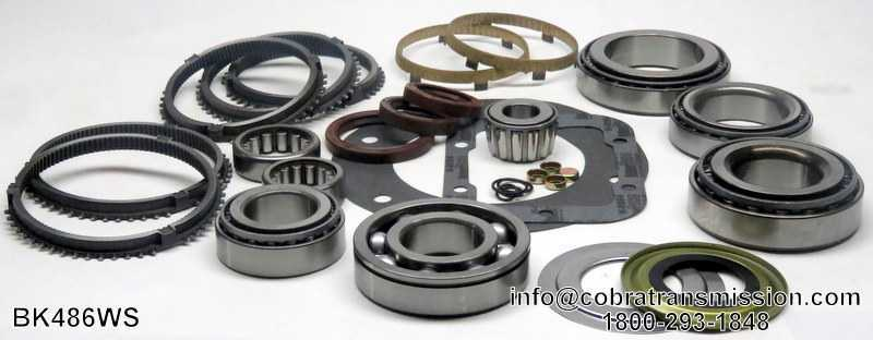 S6-650 Synchro, Bearing, Gasket and Seal Kit