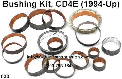 Bushing Kit, CD4E
