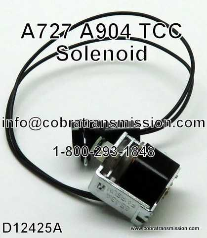 A904 (TF6) Solenoide, Lock-Up (TCC)