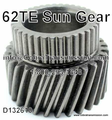 62TE Sun Gear (Compound)