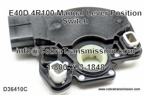 Manual Lever Position Switch, E4OD, 4R100 (MLPS)