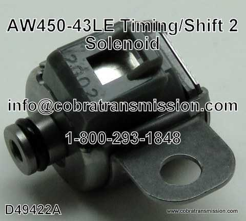 Solenoide, AW450-43LE (RNJ) Timing