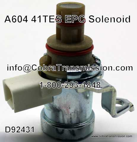 Solenoid, EPC A604 (41TES)