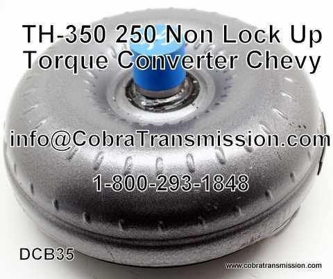 TH-350, 250 Torque Converter, Non Lock Up