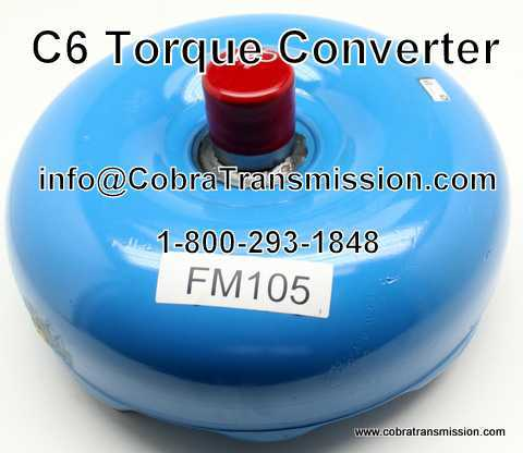 C6 Torque Converter, Non Lock-Up