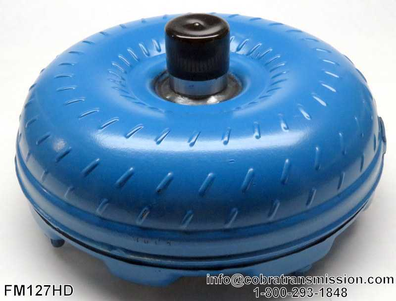 C6 Torque Converter, Non-Lock Up, Codes: 1974-Up, Ribbed Primary