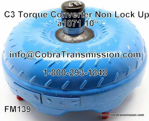 C3 Torque Converter Non-Lock Up
