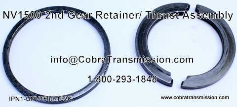 NV1500 2nd Gear Retainer / Thrust Assembly