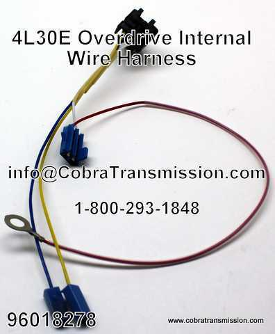 ipn14 96018278 4l30e internal wire harness overdrive solenoid, sensor , cobra transmission 4l30e wire harness at cos-gaming.co