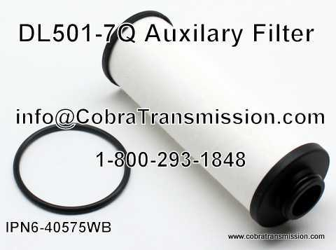 DL501-7Q Auxiliary Filter