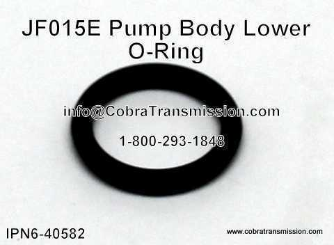 JF015E Pump Body O-Ring (Lower)