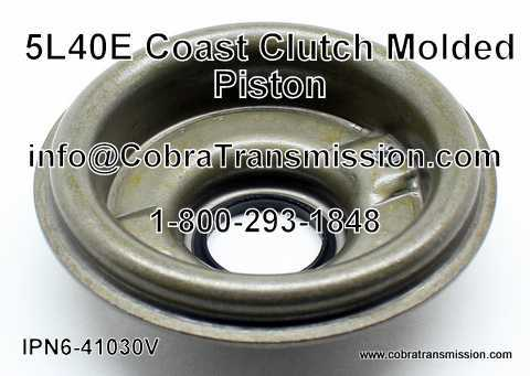 5L40E Molded Piston, Coast Clutch