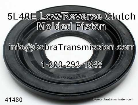 5L40E Molded Piston, Low/Reverse Clutch