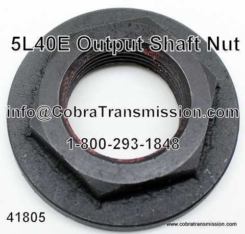 5L40E Nut, Output Shaft
