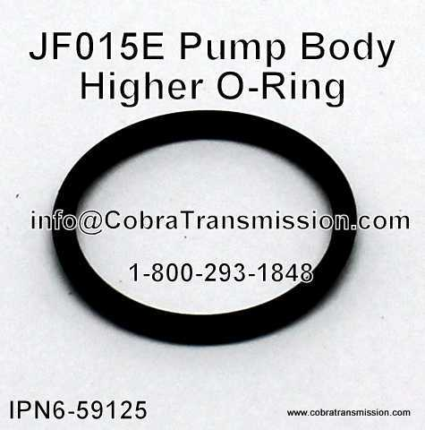 JF015E Pump Body O-Ring (Higher)