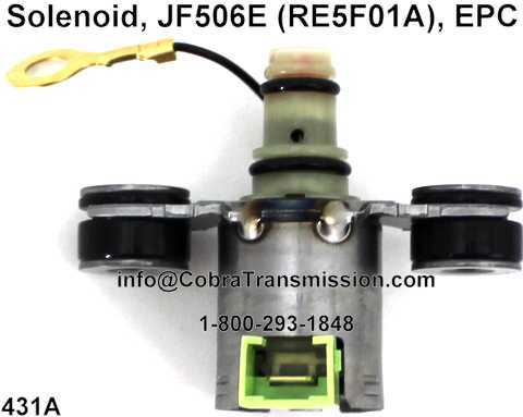 Solenoid, JF506E (RE5F01A), EPC