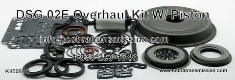 DSG, 02E Overhaul Kit w/ Pistons