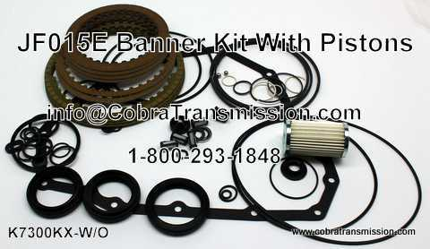 JF015E Banner Kit - Without Pistons