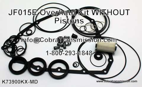 JF015E Overhaul Kit - Without Pistons