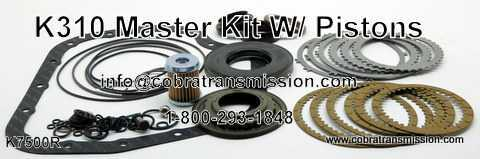Master Kit With Pistons K310