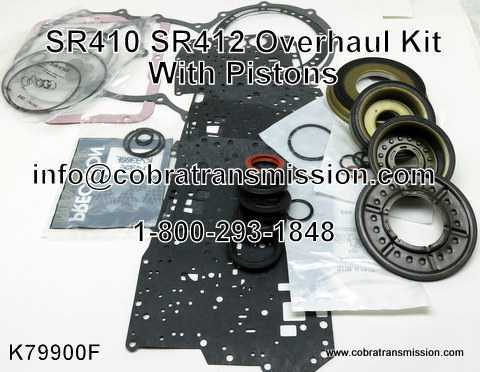 SR410, SR412 Overhaul Kit - With Pistons