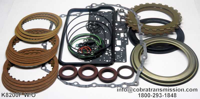 ZF-4HP16 Banner Kit with Pistons