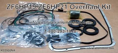 ZF6HP19, ZF6HP21 Overhaul Kit