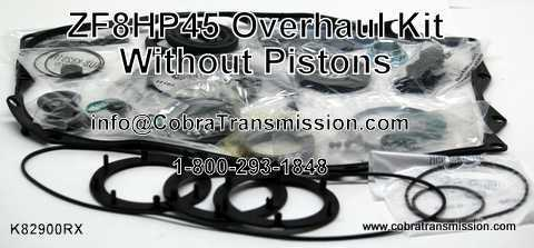 ZF8HP45 Overhaul Kit - With Out Pistons