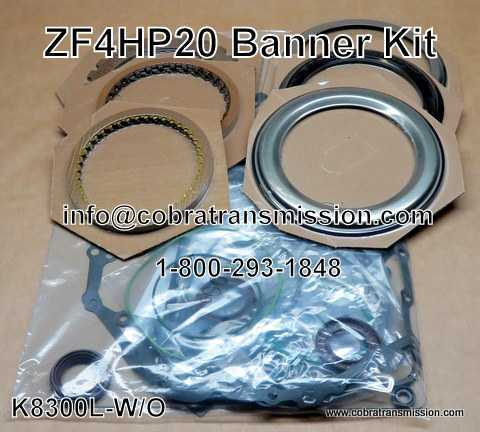 Banner Kit, ZF4HP20 (LMO) (1999-Up)