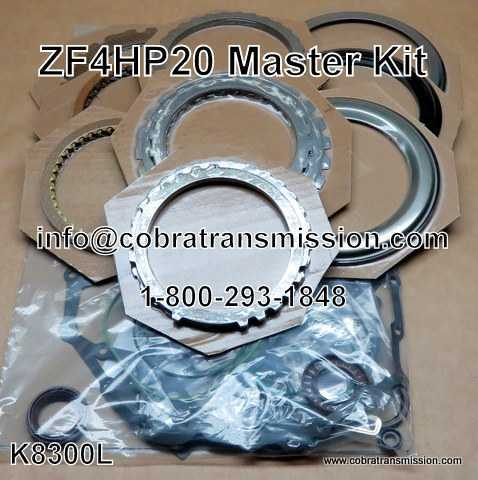 Master Kit, ZF4HP20 (LMO) (1999-Up)