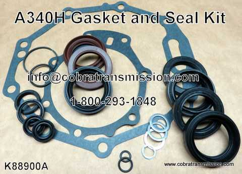 A340H Transfer Case Gasket and Seal Kit