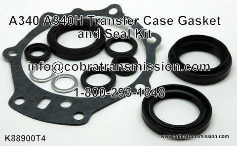 A340/H Transfer Case Gasket and Seal Kit