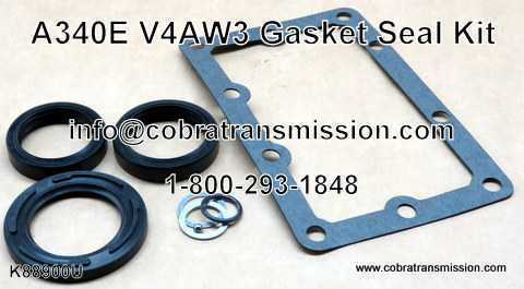 A340E - V4AW3 Transfer Case Gasket and Seal Kit