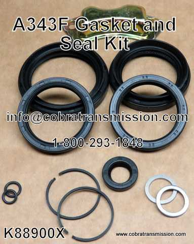 A343F Gasket and Seal Kit