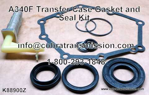 A340F Transfer Case Gasket and Seal Kit