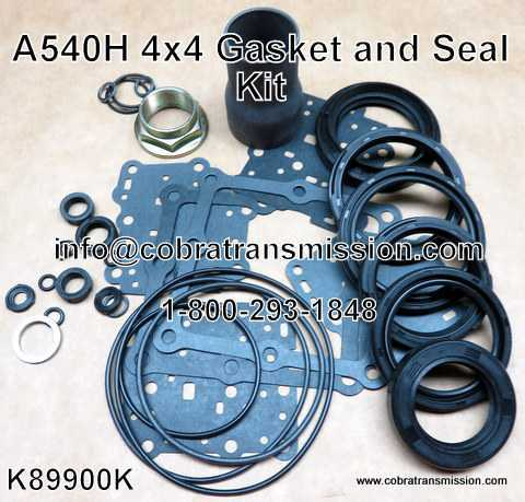 A540H 4x4 Gasket and Seal Kit