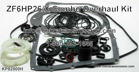 ZF6HP26/X Combo Overhaul Kit