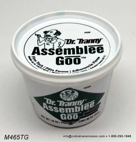Lube Gard Assemblee Goo 16 oz Green Tub